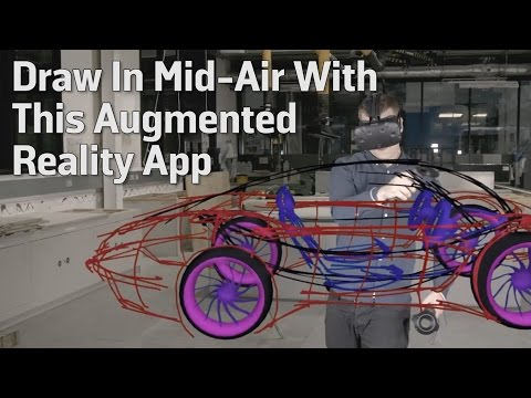 Draw In Mid-Air With This Augmented Reality App
