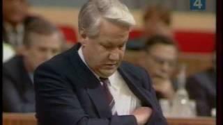 Борис Ельцин выходит из состава КПСС .mpg