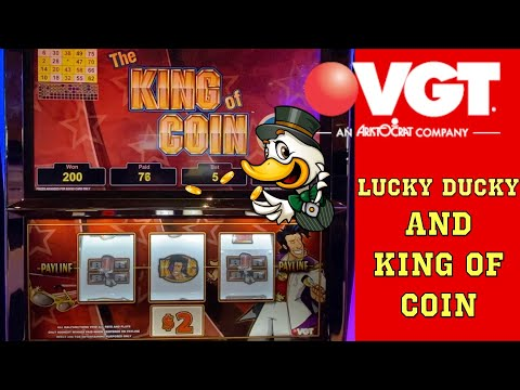 Nice Comeback thanks to Red Screens! | VGTs The King of Coin & Lucky Ducky #redscreens