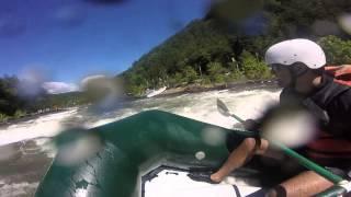 Ocoee River / Godzilla point ...damn survived