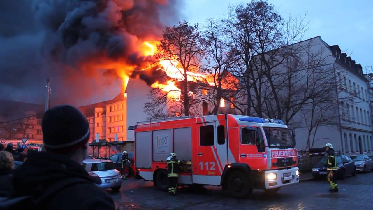 Feuer Leipzig
