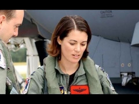 FIRST FEMALE PILOT to fly US Air Force F-35 Fighter Aircraft