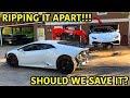 Rebuilding A Wrecked Lamborghini Huracan Part 7