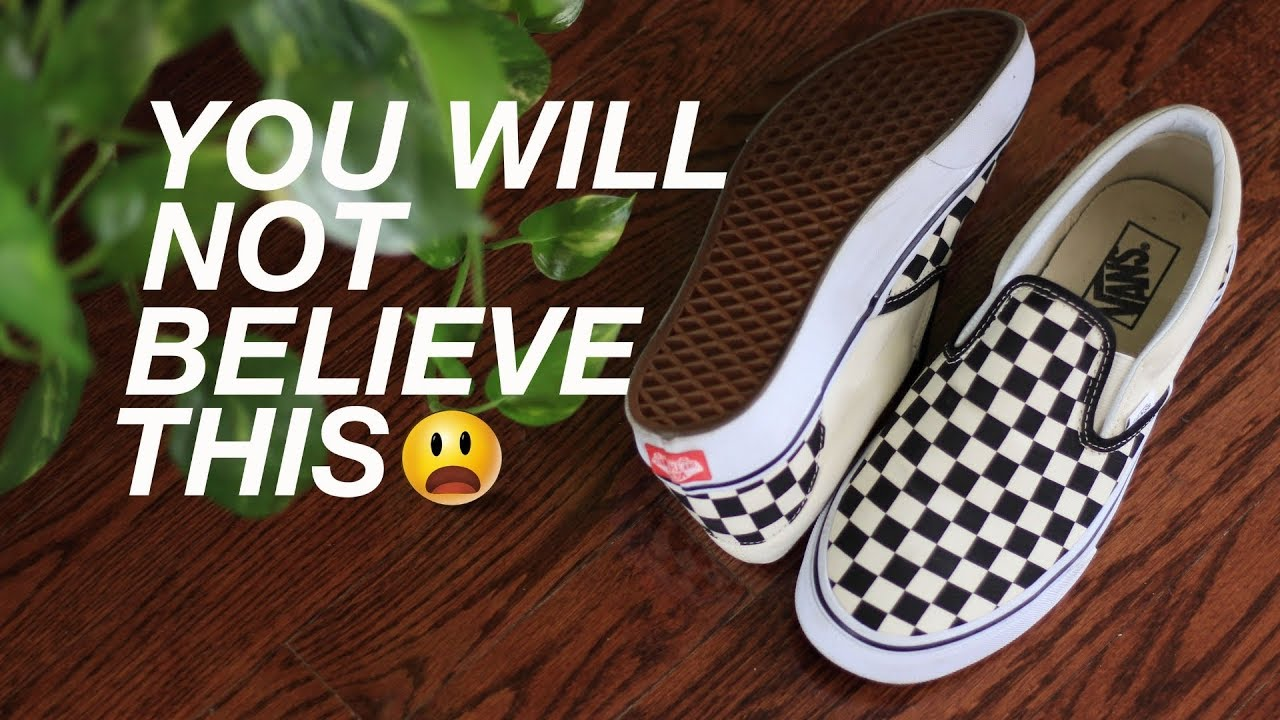 c9977c5c081684 Do Vans Sneakers ALWAYS Land Upright When Tossed   (YOU WON T BELIEVE WHAT  HAPPENED)