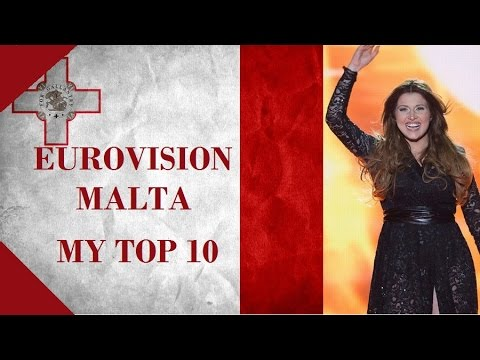Malta in Eurovision - My Top 10 [2000 - 2016]