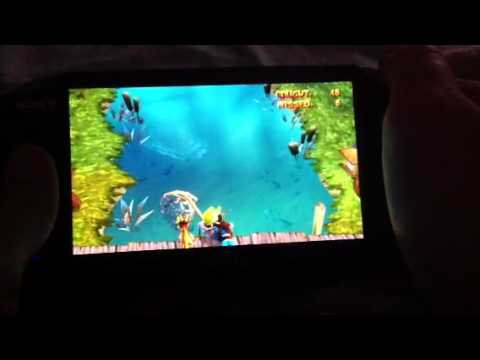 Jak And Daxter Ps Vita Herd'n And Fish'n