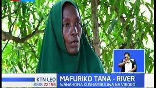 Mafuriko Tana River yaacha watu zaidi ya 10,000 bila makao huku wakaazi wakilazimika kutumia mashua