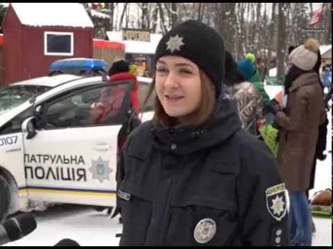 ТРК Вінниччина: У Вінниці відсвяткували «Різдво з копами» 08 01 2019