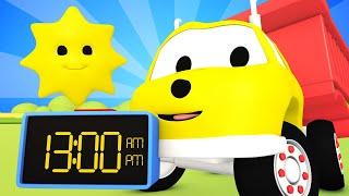 教育アニメ ダンプトラックのイーサンが時計の読み方を学ぶ 🚚 ダンプトラックのイーサン 👶 Learn Colors and Numbers for Toddlers