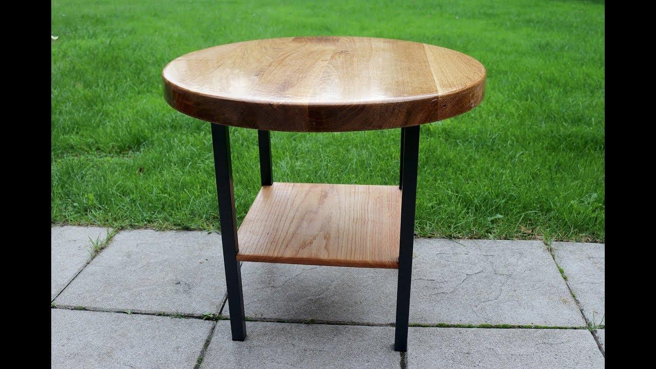 Gut bekannt Metal, Eiche und Epoxy Resin = Gartentisch / Garden table - Part 2 XB89