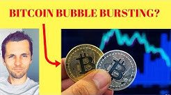 Bitcoin: Not 'Just A Correction' Anymore, The Bubble Is Bursting?