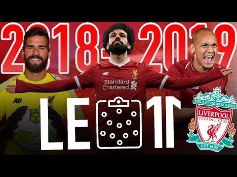 🔴⚪️ LE 11 INCROYABLE DE LIVERPOOL VERSION 2018-2019 | Salah, Fabinho, Keita, Alisson, etc