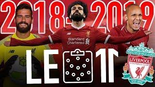 🔴⚪️ LE 11 INCROYABLE DE LIVERPOOL VERSION 2018-2019   Salah, Fabinho, Keita, Alisson, etc