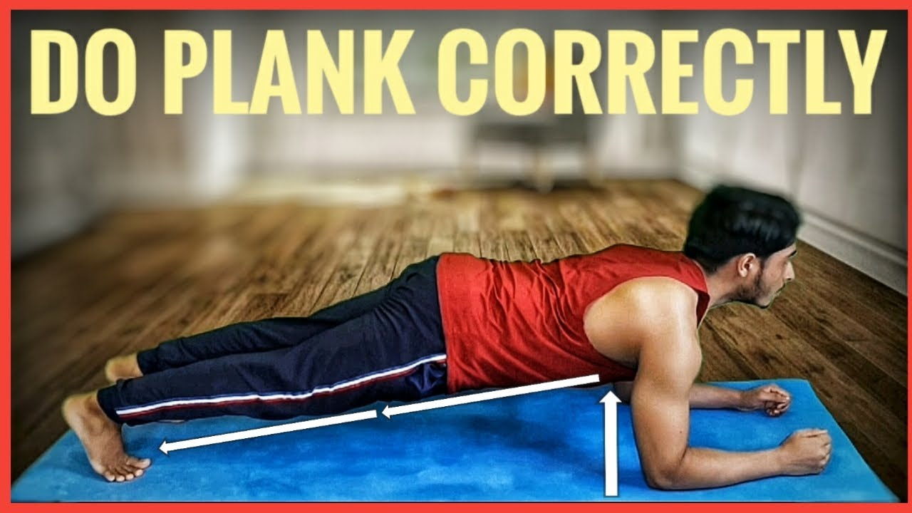 HOW TO DO PLANK CORRECTLY !! PLANK TUTORIAL !! GET MAXIMUM RESULTS !!