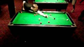 uk 8 ball pool 48 second run out stuart smith vs imran