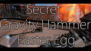 Halo 4 - Secret Gravity Hammer Easter Egg on Midnight