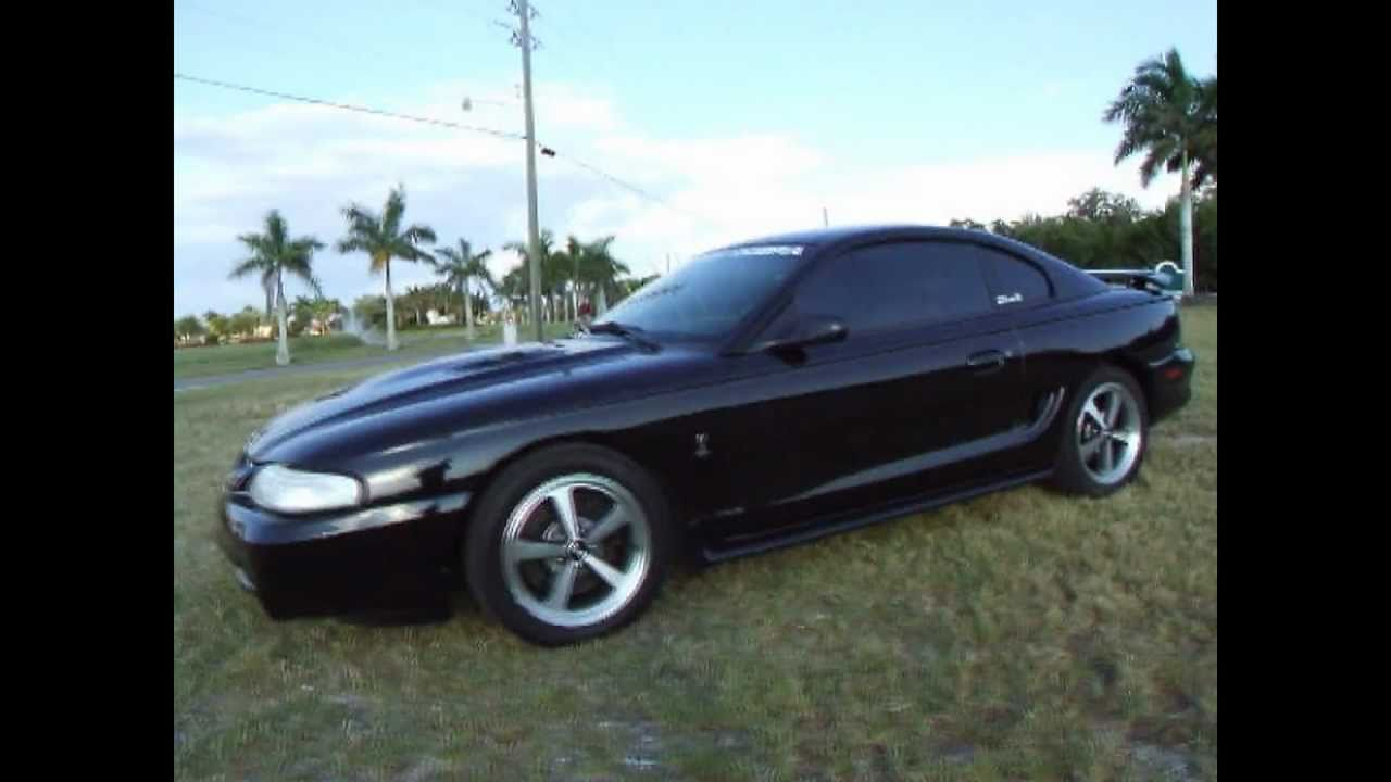 Supercharged 1997 ford mustang cobra