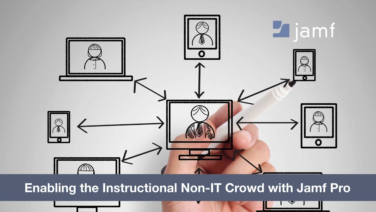 Enabling the instructional non it crowd with jamf pro youtube enabling the instructional non it crowd with jamf pro ccuart Images
