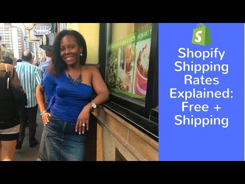 Shopify Shipping Rates Explained: Free + Shipping