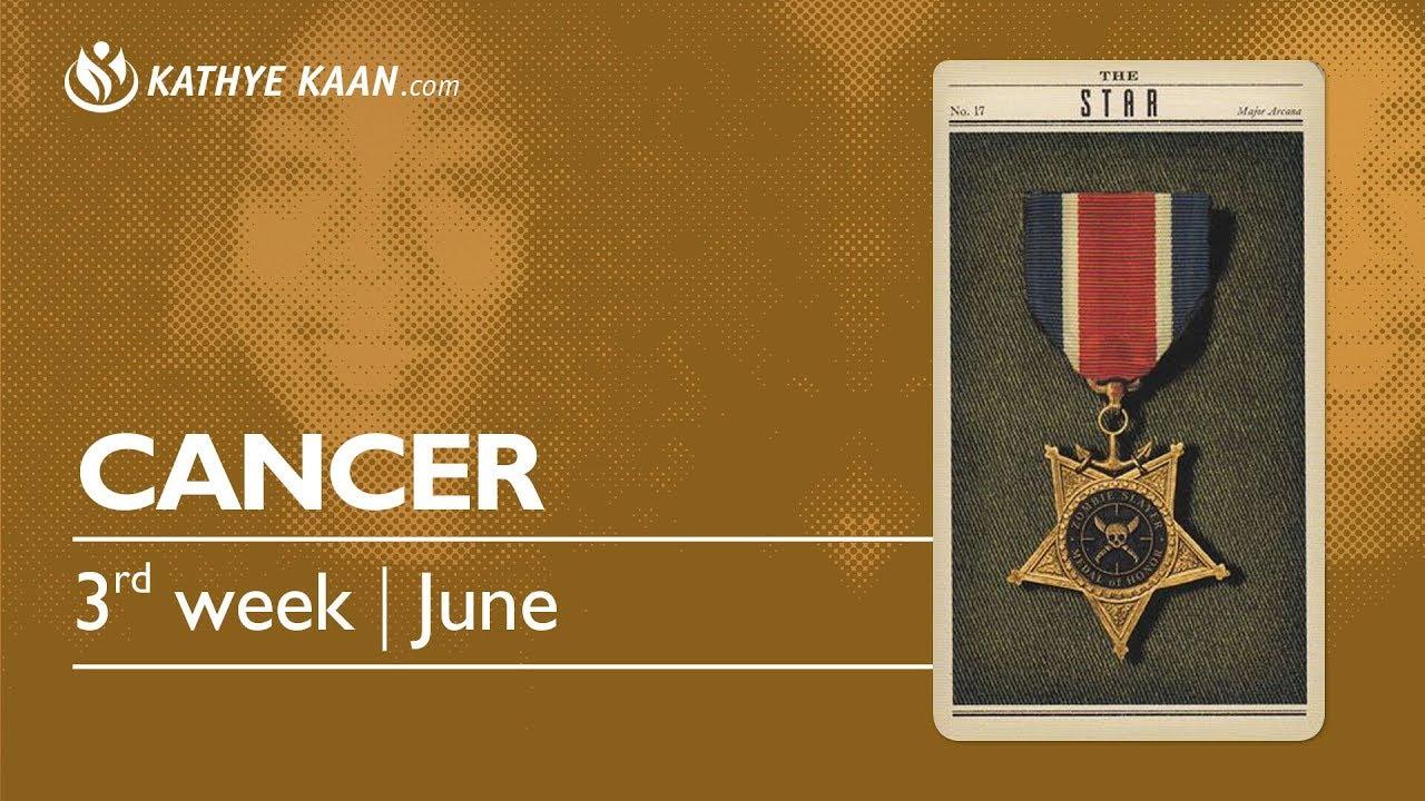 cancer weekly 17 to 23 horoscope tarot
