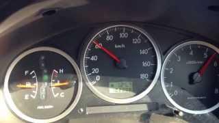 Subaru Impreza Wagon AWD 2005 EJ202 (137 bhp) Acceleration 0 - 100 ...