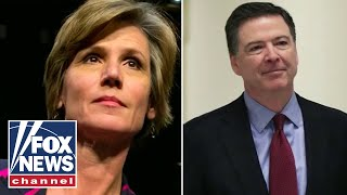 Sally Yates claims James Comey went 'rogue' while interviewing Michael Flynn