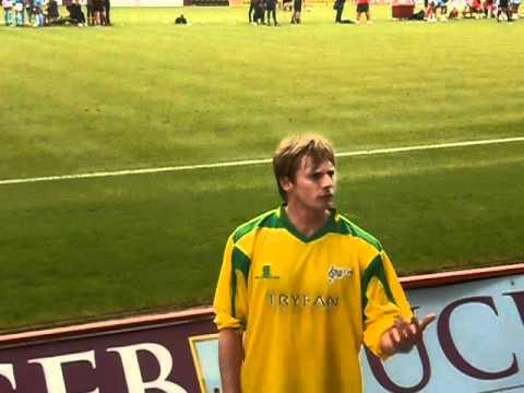 Bradley James At Soccer Six Burnley 2012