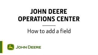 Mode d'emploi - John Deere Centre d'opérations