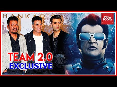 In Conversation With 2.0 Team:  Akshay Kumar, Shankar & Karan Johar Exclusive