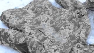 Водонепроницаемый военный костюм Пиксель - тест(Высококачественный камуфляжный костюм