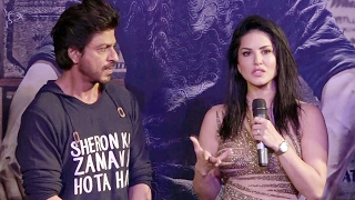 Sunny leone thanks shahrukh khan for laila main laila song | raees success party