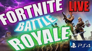 LIVE /FORTNITE BATTLE ROYALE WITH SUBS CAN WE GET 1ST/PS4