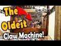 PLAYING THE OLDEST CLAW MACHINE IN THE WORLD!
