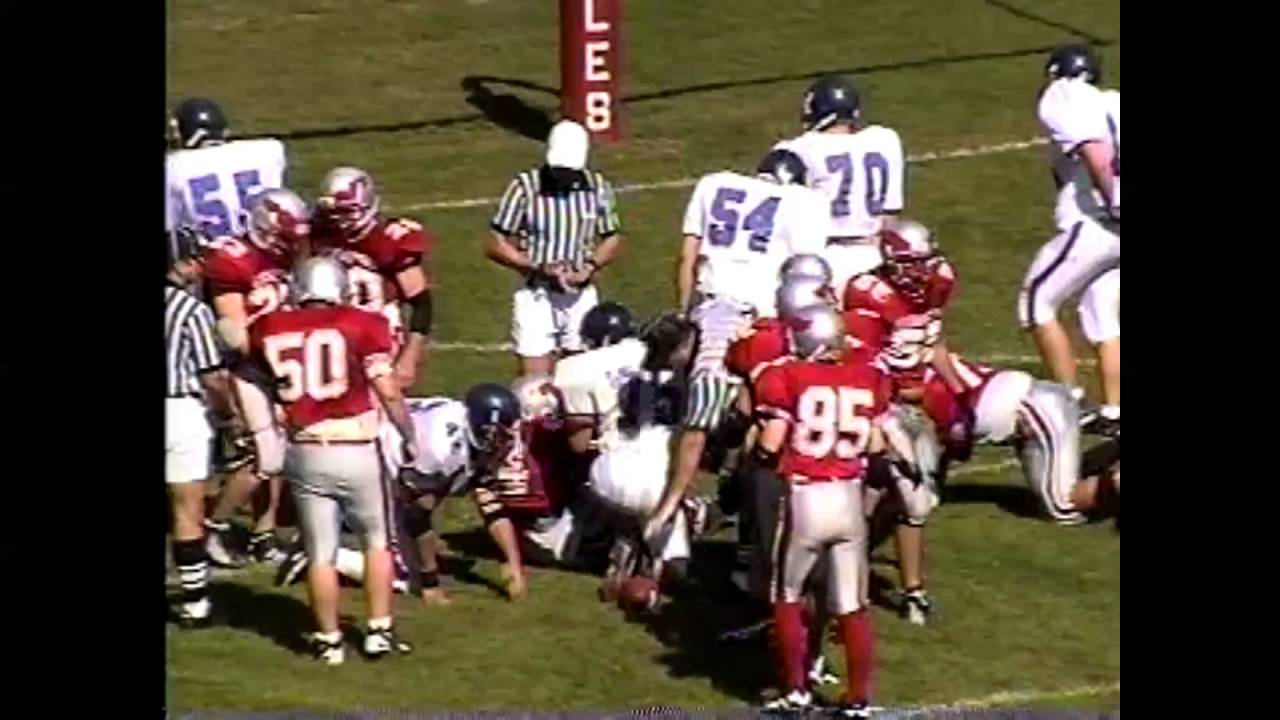 Beekmantown - AuSable Valley Football  9-27-97