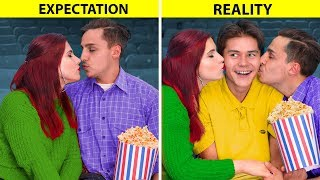 Expectation vs Reality in a Relationship / 15 Funny Situations