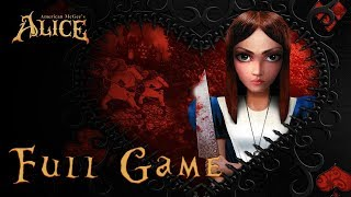 american McGees Alice (PC) - Full Game 1080p HD Walkthrough - No Commentary