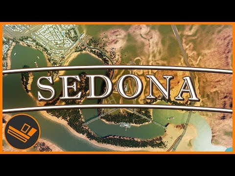 Sedona - Part 33   DOWNTOWN LAYOUT (Cities: Skylines)