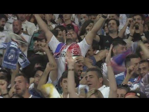 El Bernabéu vibra con la 13 Liga de Campeones del Madrid