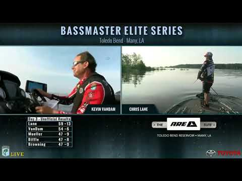 Bassmaster Live: 2016 Toledo Bend Saturday, Part 1