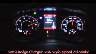 2012 Dodge Charger V6 0-60 MPH