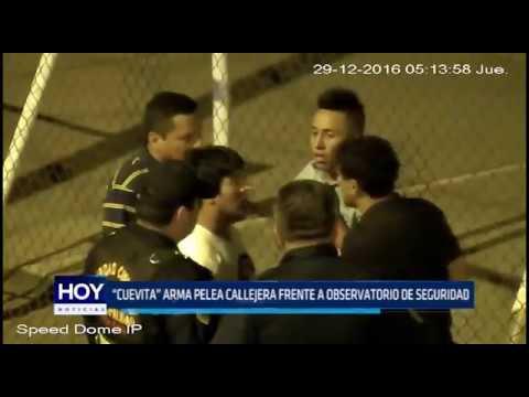 Víctor Larco: Cueva arma pelea callejera