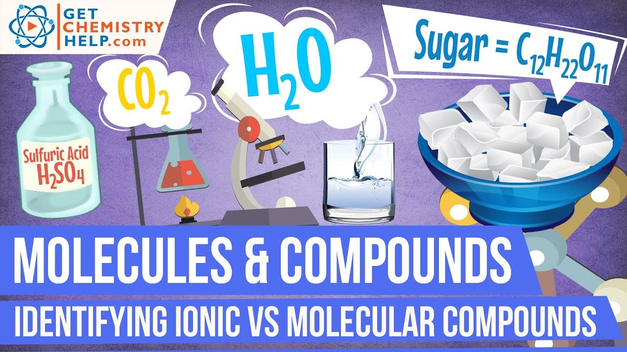 Chemistry Lesson Identifying Ionic Vs Molecular