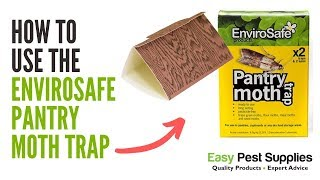 How to Use the Envirosafe Pantry Moth Trap