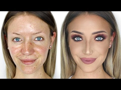 Flawless Foundation ALL DAY! (Not Cakey!) | Stephanie Lange - YouTube