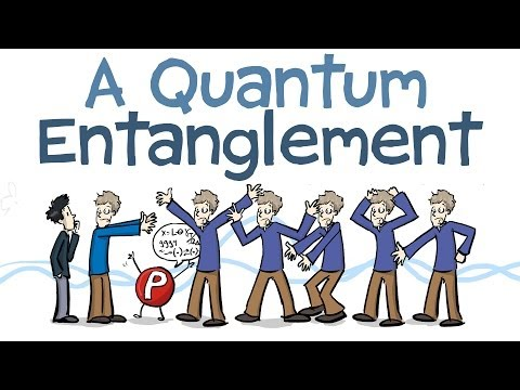Quantum Entanglement Animated