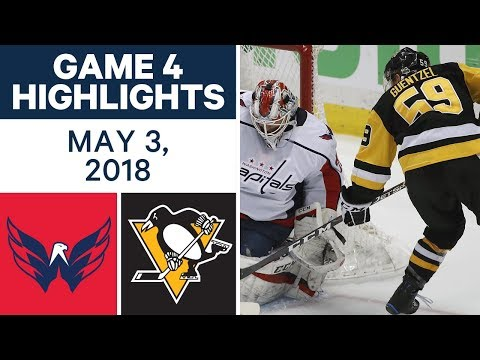 NHL Highlights | Capitals vs. Penguins, Game 4 - May 03, 2018