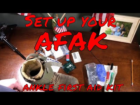 How to: Set up your Ryker Nylon gear ankle first aid kit (AFAK)