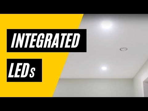 Integrated LEDs
