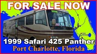 1999 Safari Continental 425 Panther Used Class A Diesel Motorhome, Florida, Ft Myers, Sarasota