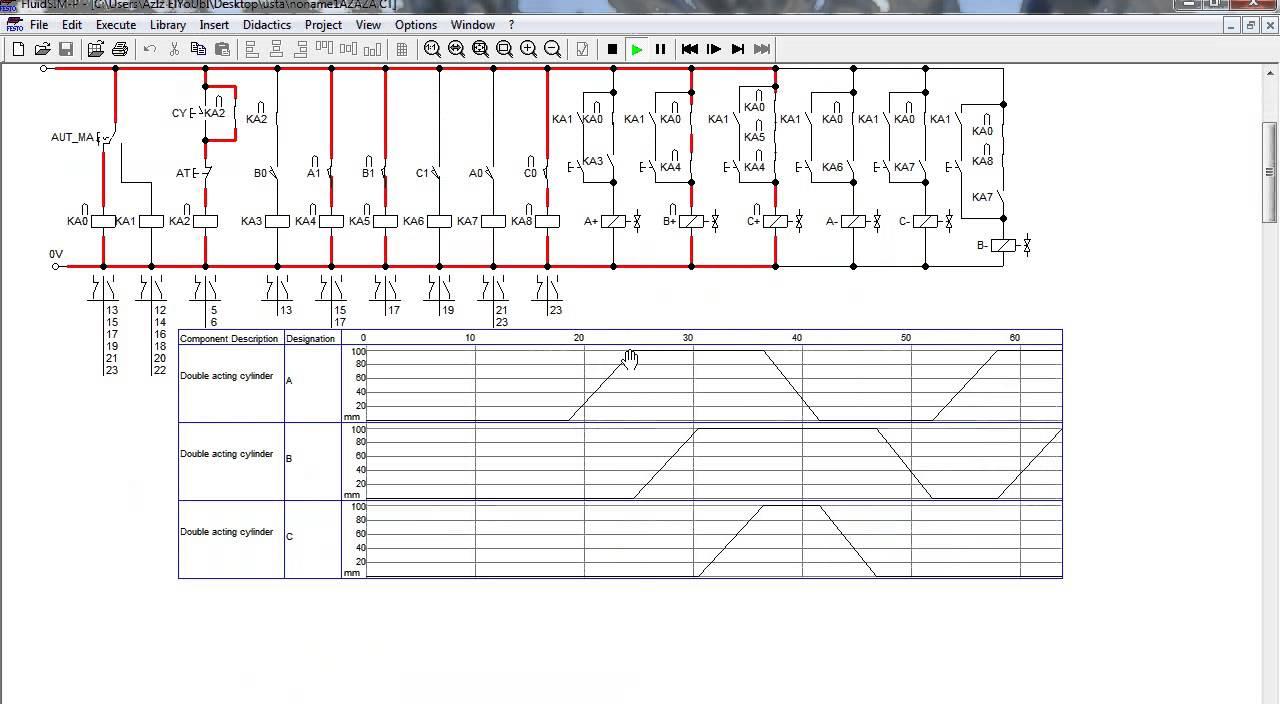 l4625 ladder logic circuit diagram youtube